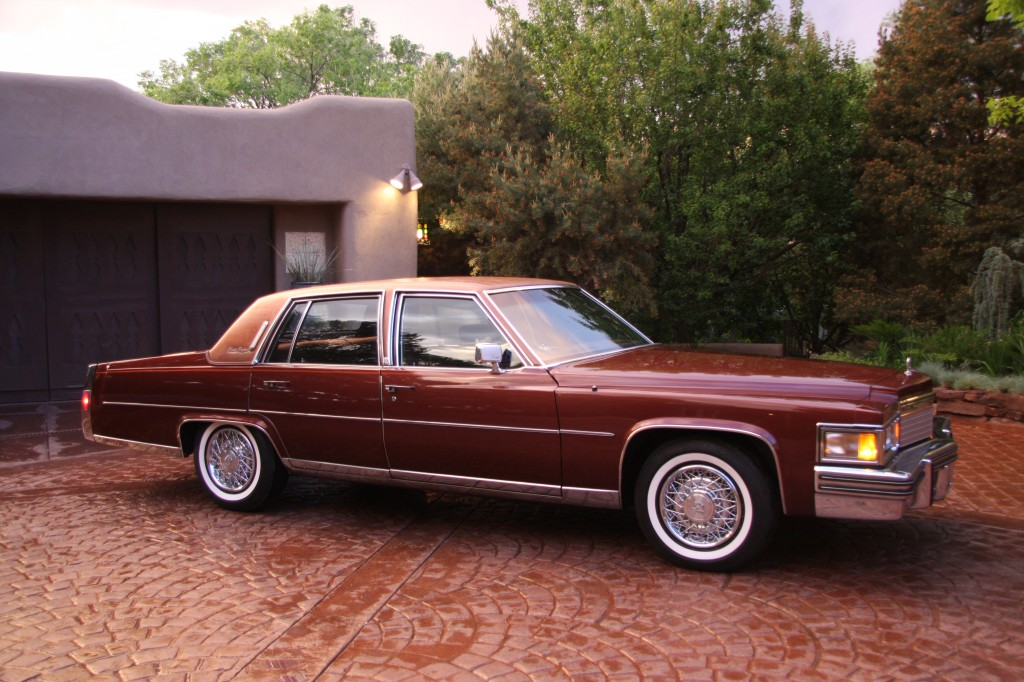 1979 cadillac fleetwood brougham sedan postcard original automobile. Cars Review. Best American Auto & Cars Review