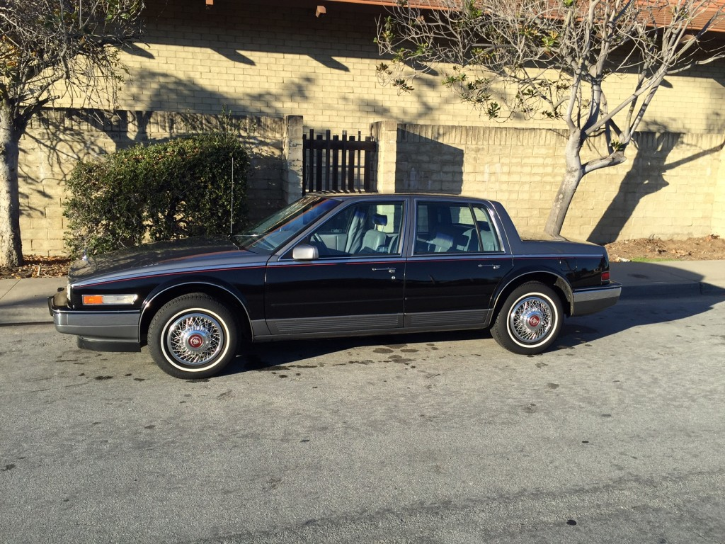 1986 Cadillac Seville Elegante, low miles, CA since new, rare « Jim